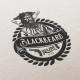 Blackbeard Rum logo design